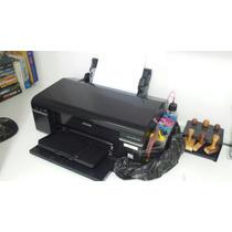 Impressora Epson T50 Com Bulk In Bandeja E Cd
