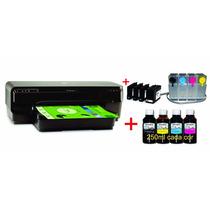 Impressora Hp 7110 A3 + Kit Bulk Ink De 250 Ml