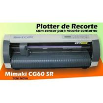 Plotter De Recorte Cg60 Sr - Semi Novo