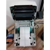 Impressora Térmica Códigos De Barras Zebra Tlp 2844 C/ Fonte