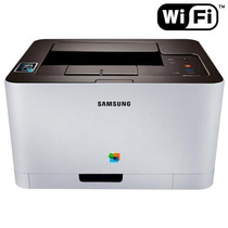 Impressora Laser Color C410w Sl-c410w/xab Samsung De Vitrine