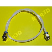 Tubo Ptfe (teflon) 1,75mm Kit Bowden Com 2 Engates E 1 Metro