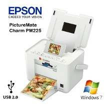 Impressora Fotográfica Epson Pm225 Picture Mate Portátil Usb