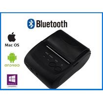 Mini Impressora Térmica N Fiscal Usb Bluetooth 58mm Portatil