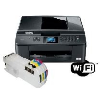 Multifuncional Wireless Mfc-j430w Com Bulk Ink Nota E Fiscal