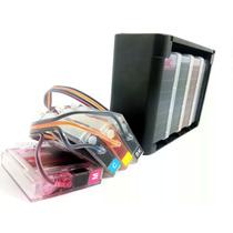 Impressora Hp 8100 Com Bulk Ink + 320ml Tinta Corante + Wifi
