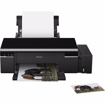 Impressora Epson Inkjet Photo L800 Bulk Ink Imprime Cd/dvd