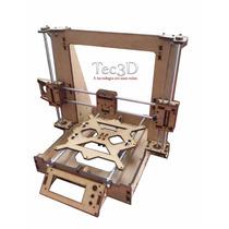 Kit Impressora 3d Graber I3 - Tec3d/ Display E Niv. Aut.