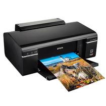Impressora Epson T50 + Cartuchos Recarregável Imprime Cd Dvd
