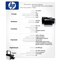 Fonte Para Impressora Officejet Pro 8500 Conector Azul