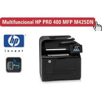Multifuncional Hp Pro 400 Mfp M425dn, Toner Para 6900 Cópias