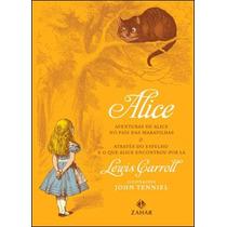 Livro Alice No País Das Maravilhas De Lewis Carroll - Novo