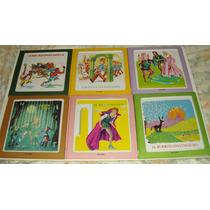 Coleção Livros Fábulas Contos De Fadas Com Quebra Cabeça