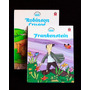 Lote Livro Infantil Frankstein + Crusoé- Capa Dura Ilustrado