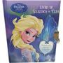Livro Infantil Frozen Segredos Da Elsa Lançamento