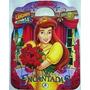 Maleta Princesas Encantadas 8 Livros Disney +brinde Cd