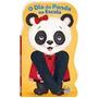 Livro Infantil Animais Dedoche - O Dia Da Panda Na Escola