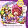 Maleta 8 Livros Wendy Disney+brinde Dvd Etatuagem Unha