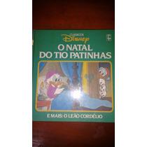 Livro Clássicos Disney O Natal Do Tio Patinhas/leão Cordélio