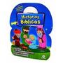 Maleta Historias Biblicas 08 Livros Infantil +dvd+brinde