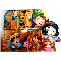 Coleção De 11 Livros Infantis: Rapunzel, Branca-de-neve,...