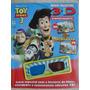Disney Pixar Toy Story 3 Óculos E Adesivos 3d