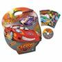 Maleta Carros Cars 8 Livros Infantil +brinde Cd 7 Em 1