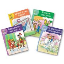 Coleção Conviver Sítio Do Picapau Amarelo 4 Livros Infantis
