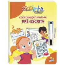 Livro Infantil Escreva E Apague - Coordenação Motora