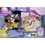 Livro De Procurar E Achar Com Quebra Cabeça Princesas - Dcl