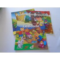3 Livros Coleção O Que Cabe No Meu Mundo Seminovos