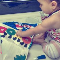 Livro De Pano Infantil -quiet Book