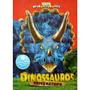 Dinossauros Tricerátopo - Coleção Livro Quebra-cabeça