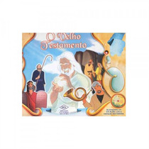 Livro Infantil De Histórias Bíblicas Velho Testamento - Dcl