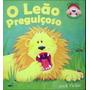 Livro Pop-up O Leão Preguiçoso