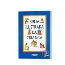 Livro Bíblia Ilustrada Da Criança -editora Rideel