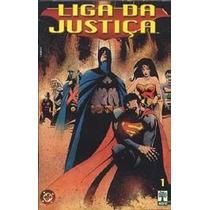 Liga Da Justiça (planeta Dc) Três Ediçoes