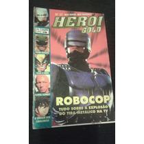 Revista Heroi Gold 27 Sampa Robocop Power Rangers X-men Rara