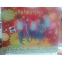 Revista Chiquititas Livro De Jogos!