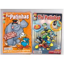 Lote 63- 4 Revistas Tio Patinhas 497-542- 574-575- Ed Abril