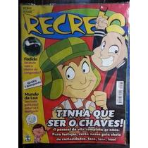 Revista Recreio Capa Diversa Brinde Playmobil - Colecionador
