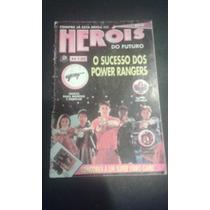 Revista Herois Do Futuro 09 Press Power Rangers Super Homem
