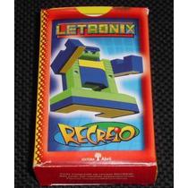 Jogo De Cards Letronix - Recreio - Ed. Abril - Completo