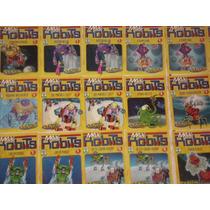 Lote De 22 Revistas Max Robots - Recreio - Ed. Abril