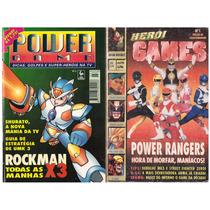 Revista Herói Games N°1 Gratis 1 Revista Power Game N°3