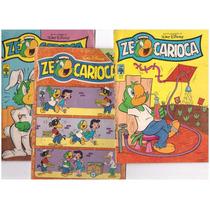 Lote 41-6 Revistas Zé Carioca 1517-1525-1535-1543-1573-1587