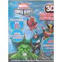 Livro - Marvel Super Heroes - Óculos + Adesivos 3d - Lacrado