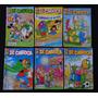 Lote De 6 Revistas Zé Carioca 52 Pgs Editora Abril 2007