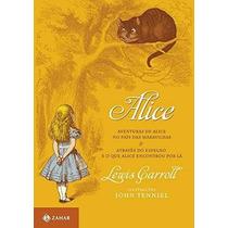 Livro Alice No País Das Maravilhas Lewis Carroll Lacrado