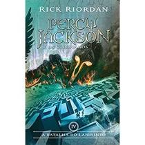 Livro - Percy Jackson A Batalha Do Labirinto - Rick Riordan